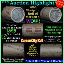 All Carson City Morgan dollar roll ends 1893 &