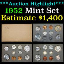 Original 1952 United States Mint Set (fc)