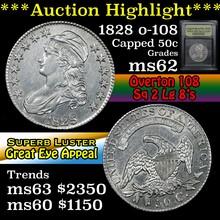*Auction Highlight* 1828, o-108, Sq 2, Lg 8