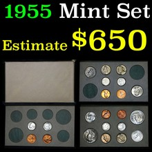 1955 Double Mint Set and includes 20 coins   (fc)