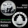 2012 Chinese Panda 10 Yuan