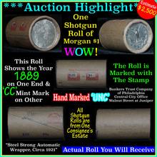 Incredible Find, Uncirculated Morgan Shotgun Roll