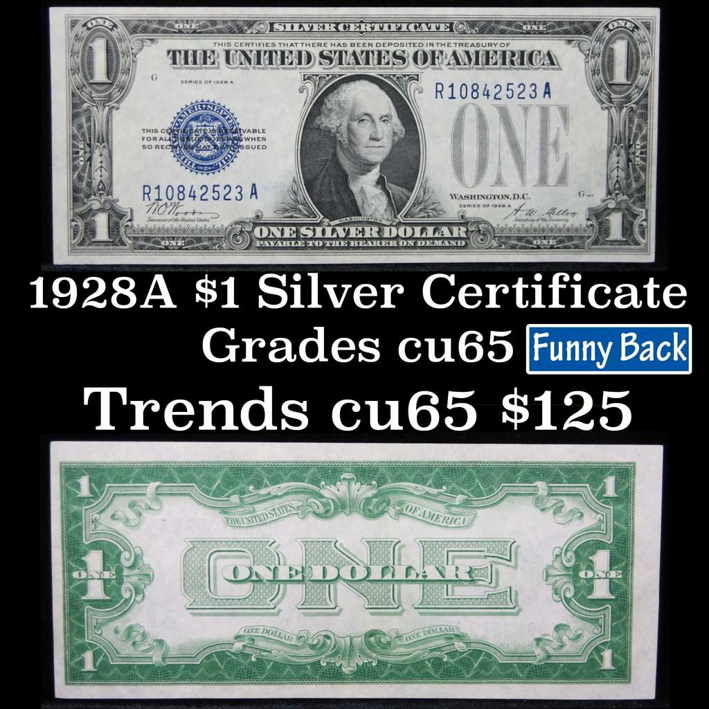 1928a 1 Blue Seal Silver Cert Auctions Online Proxibid