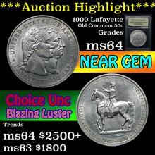 1900 Lafayette Lafayette Dollar $1 Graded Choice