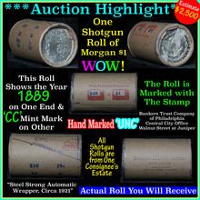Uncirculated Morgan $1 Shotgun Roll w/1889