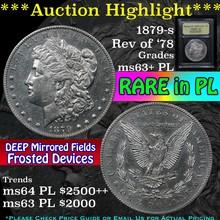 ***Auction Highlight*** 1879-s rev '78 Morgan