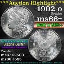 1902-o Morgan Dollar $1 Grades GEM++ Unc (fc)