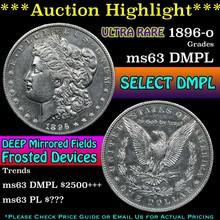 1896-o Morgan Dollar $1 Grades Select Unc DMPL