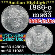 1886-o Morgan Dollar $1 Grades Select Unc (fc)