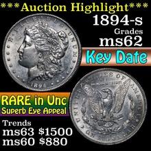 1894-s Morgan Dollar $1 Grades Select Unc (fc)