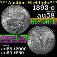 1893-o Morgan Dollar $1 Grades Choice AU/BU Slider
