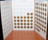 Lincoln Cent Collection from 1934-1958 all dates and mints incl steel cents