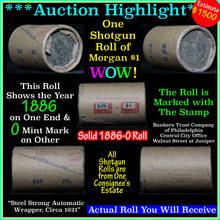 Solid 1886-o Shotgun Roll of (20) Morgan Dollars