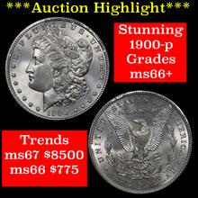 1900-p Morgan Dollar $1 Grades GEM++ Unc (fc)