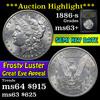 ***Auction Highlight*** 1886-s Morgan Dollar $1 Grades Select+ Unc (fc)