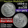 ***Auction Highlight*** 1894-o Morgan Dollar $1 Grades Choice AU/BU Slider (fc)