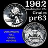 1962 Washington Quarter 25c Grades Select Proof