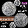 1921-d Morgan Dollar $1 Grades Select Unc