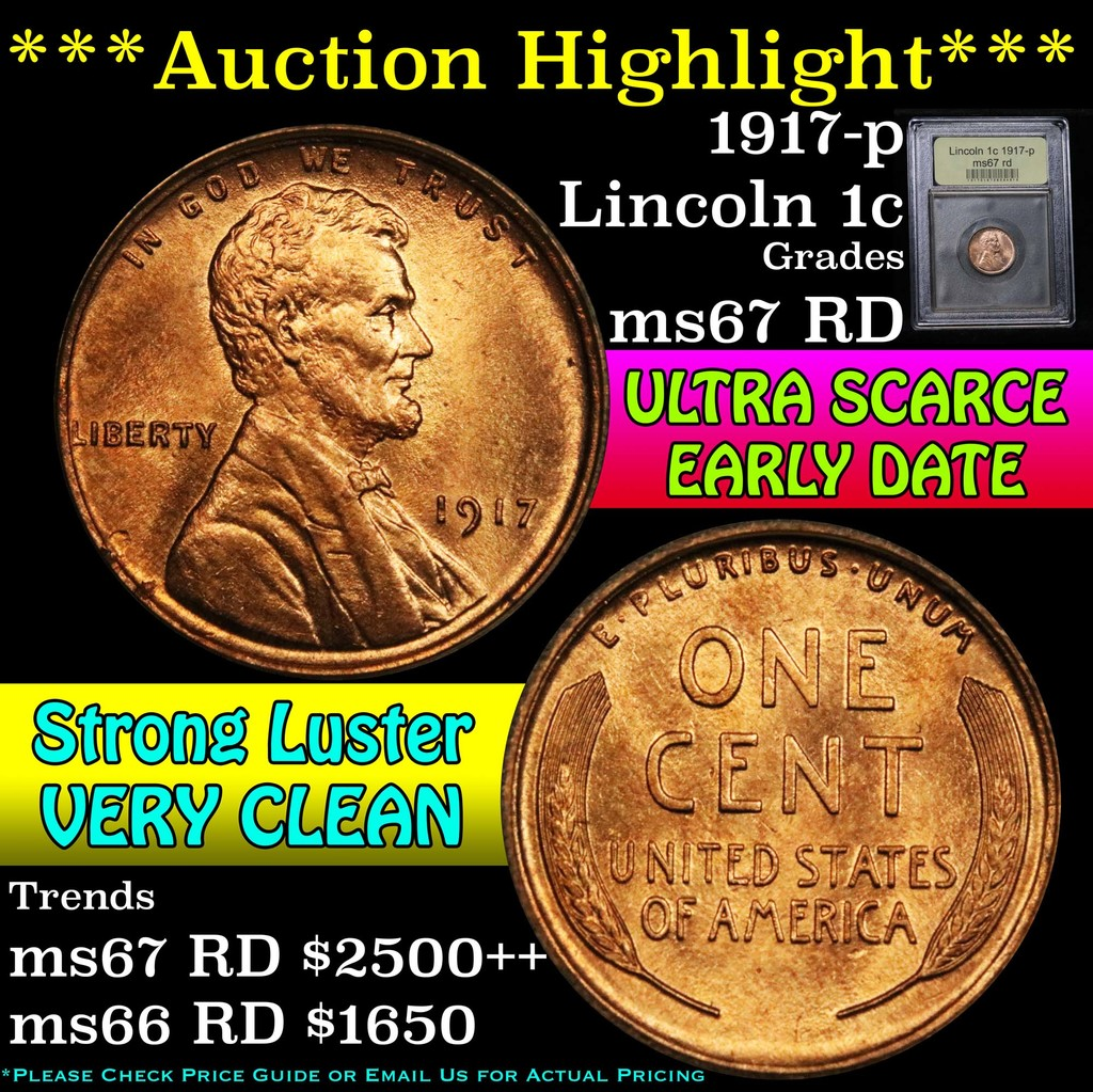 Auction Highlight*** 1917-p    Auctions Online | Proxibid