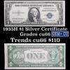 1935H $1 Blue Seal Silver Certificate Grades Gem+ CU