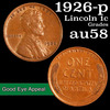 1926-p Lincoln Cent 1c Grades Choice AU/BU Slider