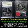 1986-s Statue of Liberty Modern Commem Dollar $1 Grades GEM++ Proof Deep Cameo