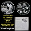 The Fifty State Bicentennial Medal Collection - Washington Sterling Silver .925 Round 1 oz. Proof