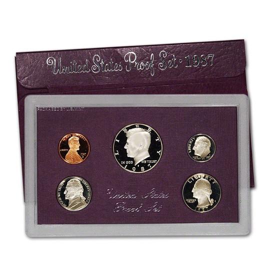 1987  United States Mint Proof Set