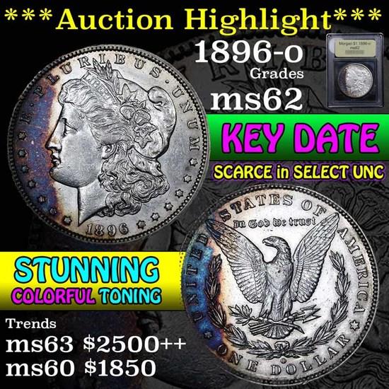 ***Auction Highlight*** 1896-o Morgan Dollar $1 Graded Select Unc by USCG (fc)
