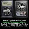2004-P Lewis & Clark Modern Commem Dollar $1 Graded GEM++ Proof Deep Cameo by USCG