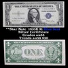 **Star Note  1935E $1 Blue Seal Silver Certificate Grades Choice AU