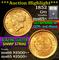 1852 Type 1, Liberty Head $1 Gold Grades GEM+ Unc