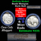 Full roll of Buffalo Nickels, 1918 on one end & a 'd' Mint reverse on other end (fc)