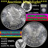 1881-o Morgan Dollar $1 Grades Choice Unc DMPL