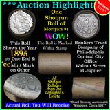 ***Auction Highlight*** Morgan dollar roll ends 1895 & 'cc', Better than average circ (fc)