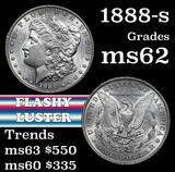 1888-s Morgan Dollar $1 Grades Select Unc