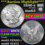 ***Auction Highlight*** 1896-s Morgan Dollar $1 Graded Select Unc by USCG (fc)