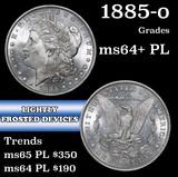 1885-o Morgan Dollar $1 Grades Choice Unc+ PL