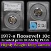 PCGS 1977-s Roosevelt Dime 10c Graded pr69 DCAM by PCGS
