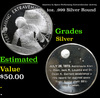 America In Space Performing Extravehicular Activity 1oz. .999 Silver Round Grades