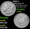 1891-s Morgan Dollar $1 Grades Choice AU/BU Slider
