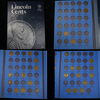 Starter Lincoln cent book 1912-1940 coins . .