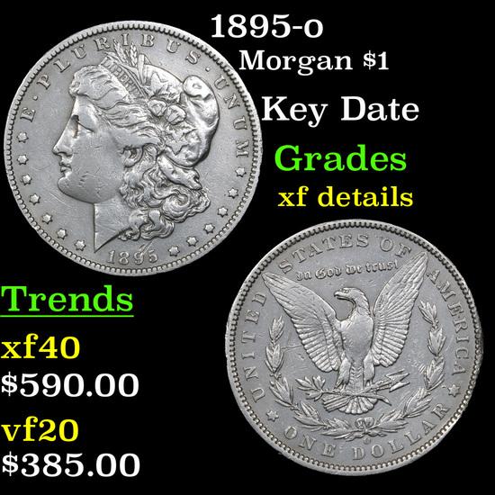 1895-o Morgan Dollar $1 Grades xf details