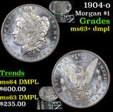 1904-o Morgan Dollar $1 Grades Select Unc+ DMPL