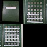 Starter Jefferson Nickel book 1960-1989 56 coins . .