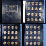 Partial Presidential Dollar book 2007-2012  48 coins