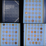 Starter Lincoln Cent Book 1909-1940 23 coins
