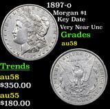 1897-o Morgan Dollar $1 Grades Choice AU/BU Slider