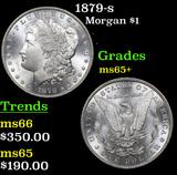 1879-s Morgan Dollar $1 Grades GEM+ Unc