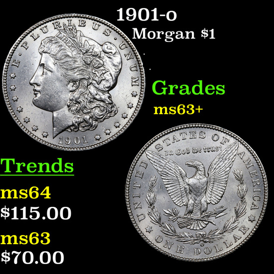 1901-o Morgan Dollar $1 Grades Select+ Unc